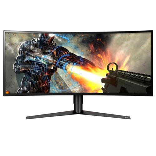 "LG UltraGear 34GK950F-B 34"" Class IPS UltraWide QHD Curved 144Hz LED Gaming Monitor with AMD Radeon FreeSync 2, 3440x1440"