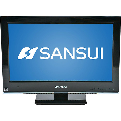 """Sansui 19"""" Class LED 1080p HDTV with Built-in DVD Player, SLEDVD198"""