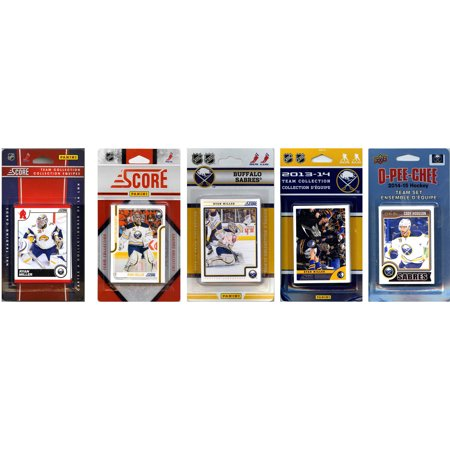 C&I Collectables NHL Buffalo Sabres 4 Different Licensed Trading Card Team