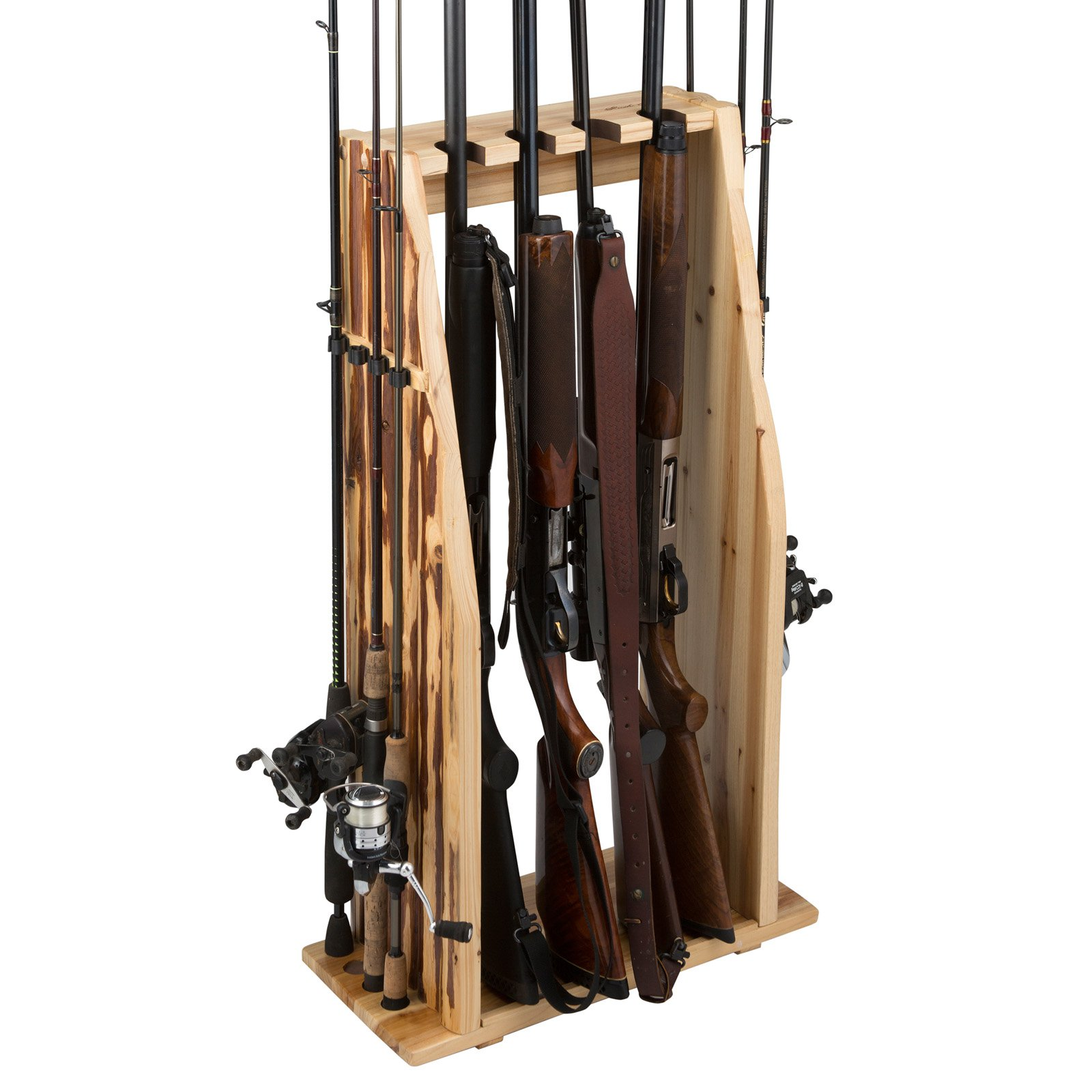 Rush Creek Creations 4 Gun 8 Fishing Rod Storage Rack
