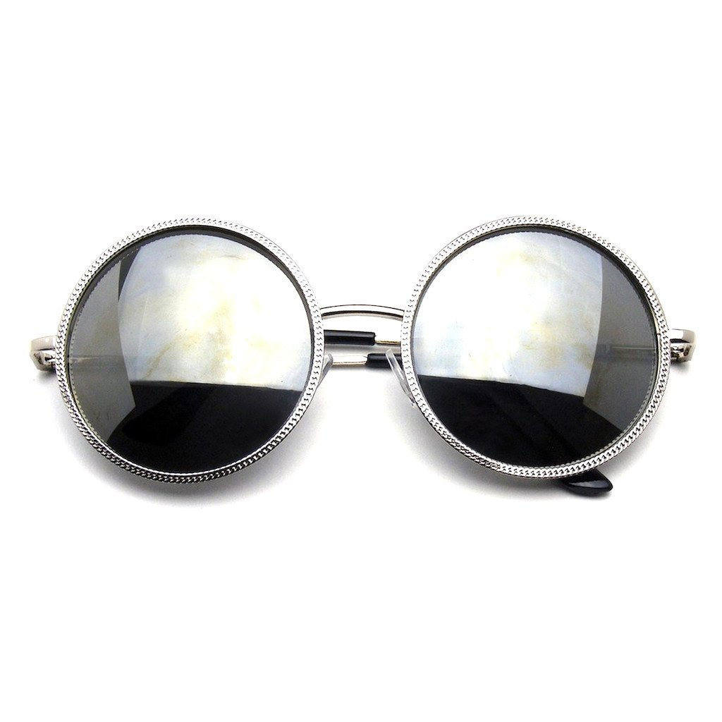 f073d29b2 Emblem Eyewear - Designer Round Metal Fashion Vintage Inspired Circle  Sunglasses   Walmart Canada ?
