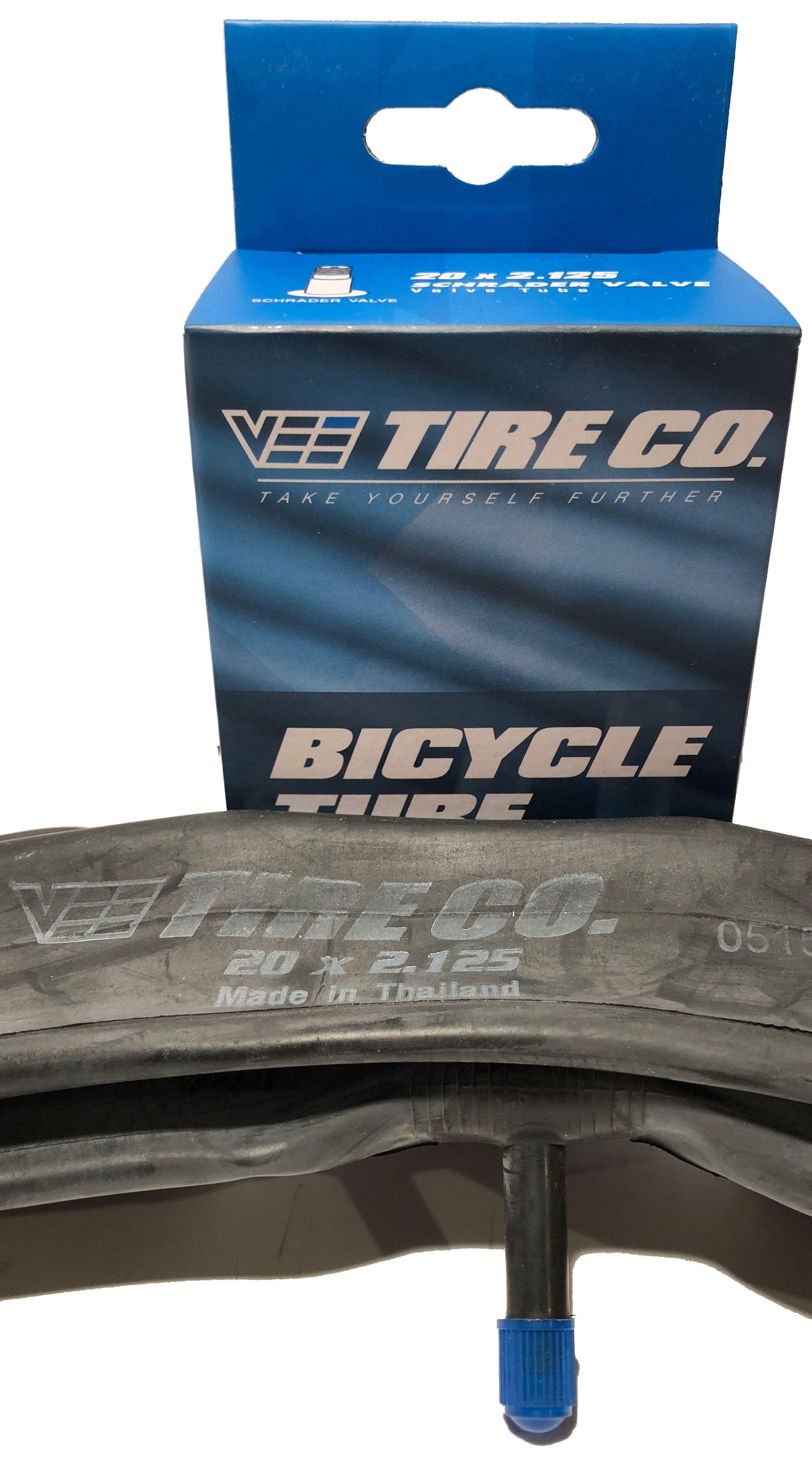 20x2.25 Vee Tire 20 inch Bike Tire Bicycle Inner Tube 48mm Presta Valve Pair 2