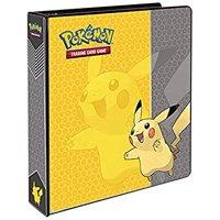 """Pokemon Pikachu 3-Ring Binder Card Album, 2"""""""