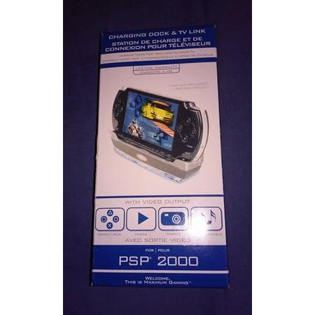 PSP 2000 Charging Dock & TV Link Intec