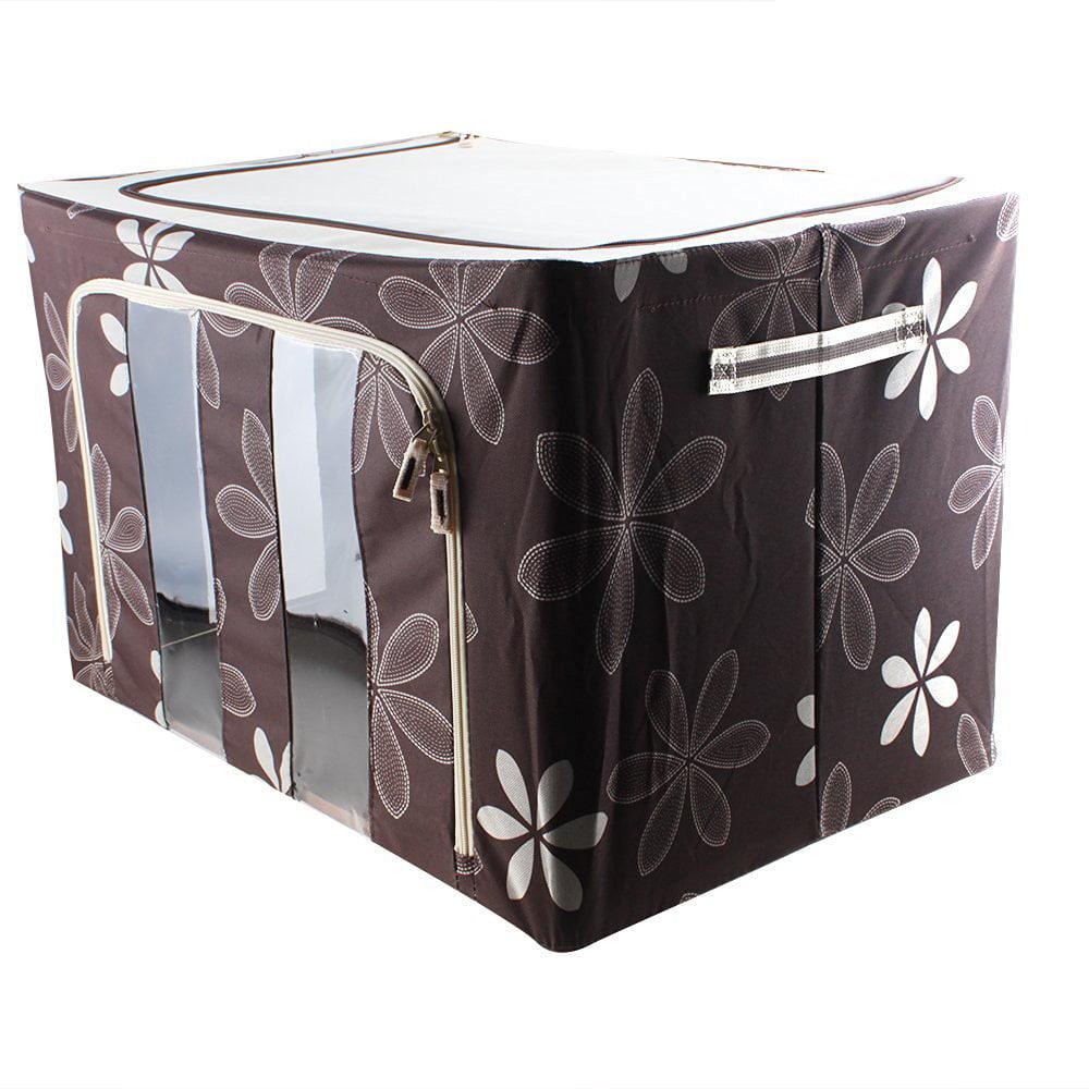 AGPtek 100L 60x42x40cm Foldable Storage Box Clothes Storage Case