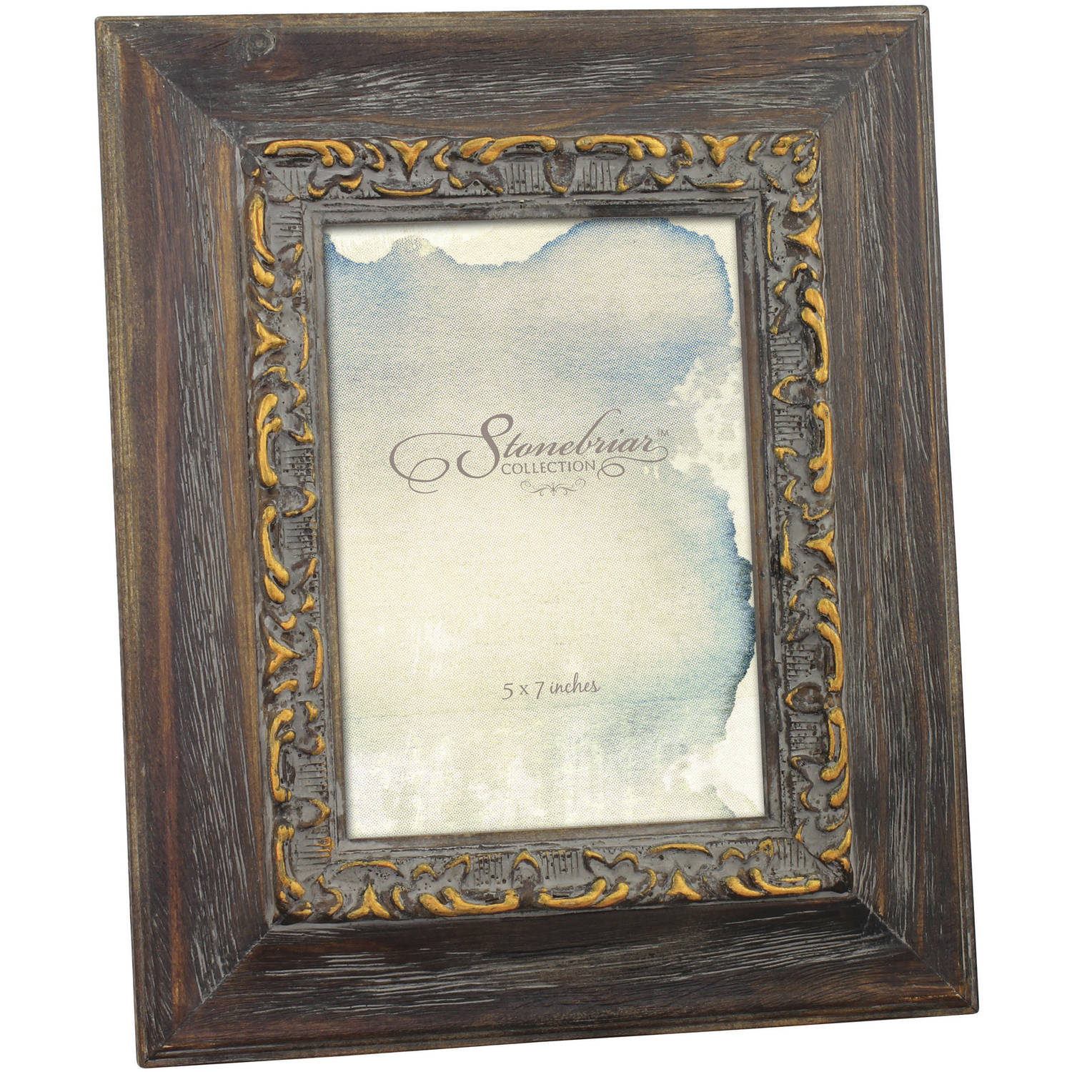 """Vintage Inspired Weathered 5"""" x 7"""" Photo Frame"""