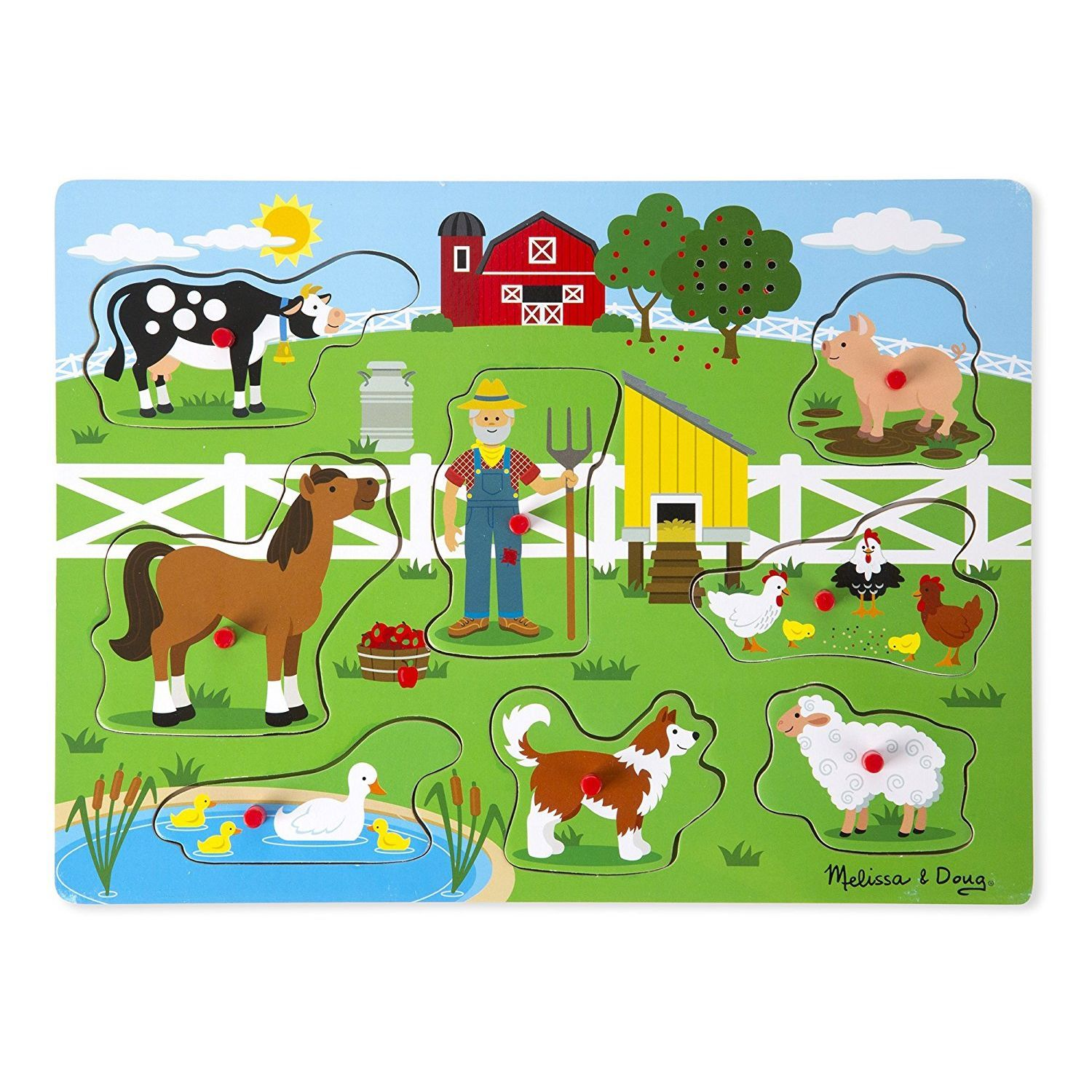Old MacDonald's Farm Sound Puzzl by Melissa & Doug