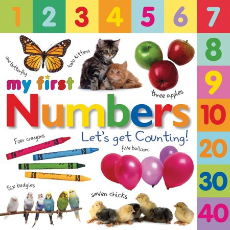 Tabbed Board Books: My First Numbers : Let's Get Counting! - Number Book