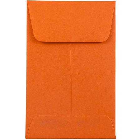 JAM Paper #1 Coin Envelopes, 2 1/4