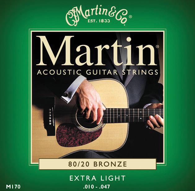 Martin 80/20 Bronze Extra-Light Gauge Acoustic Strings