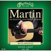 Martin 80/20 Bronze Extra-Light Gauge Acoustic Strings