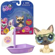 Littlest Pet Shop 'Prized Pets' German Shepherd Toy Set (3pc)