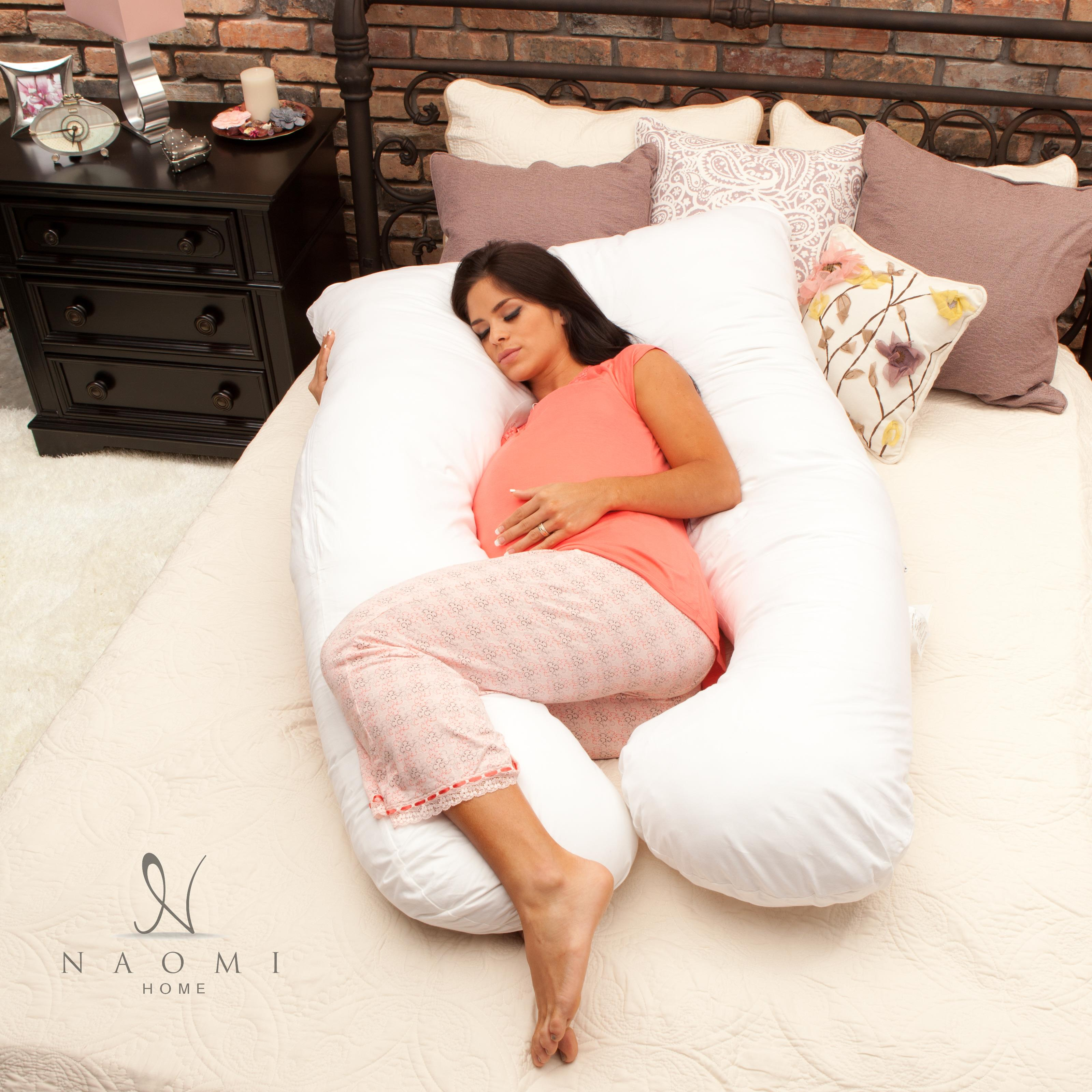 Naomi Home Cozy Body Pillow Color:Espresso   Walmart.  Walmart.com
