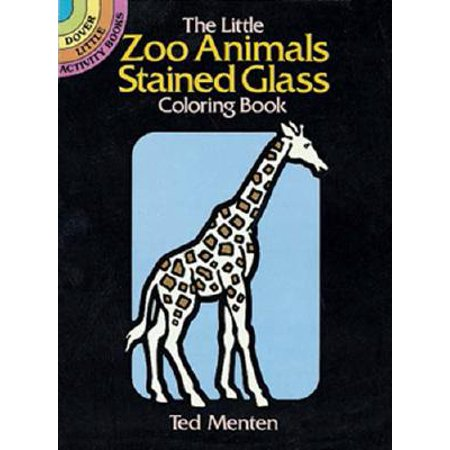 The Little Zoo Animals Stained Glass Coloring Book](Stained Glass Mlp)