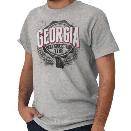 Brisco Brands State of Georgia Game Day GA Short Sleeve Adult