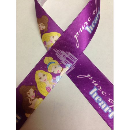 Offray Disney Princess Ribbon, 7/8