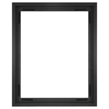16x20 Canvas Float Frame, Black