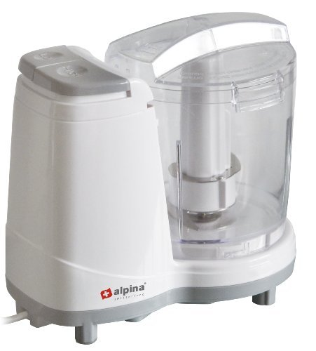 Alpina SF-4020 Mini Electric 3-Cup Food Chopper for 220 240 Volt Countries (Not for USA) by VCT