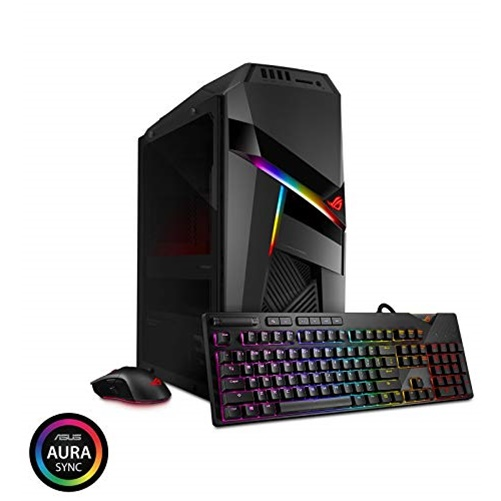ASUS GL12CX-DS781 Intel Core i7 9th Gen 9700K (3.60 GHz) 16 GB DDR4 1 TB HDD 512 GB SSD NVIDIA GeForce RTX 2080 Windows 10 Home