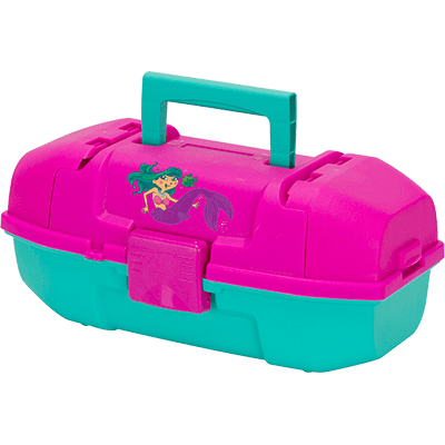 Plano Synergy 500102 Tackle Box, Youth, Mermaid, Pink Teal by Plano Synergy Inc.