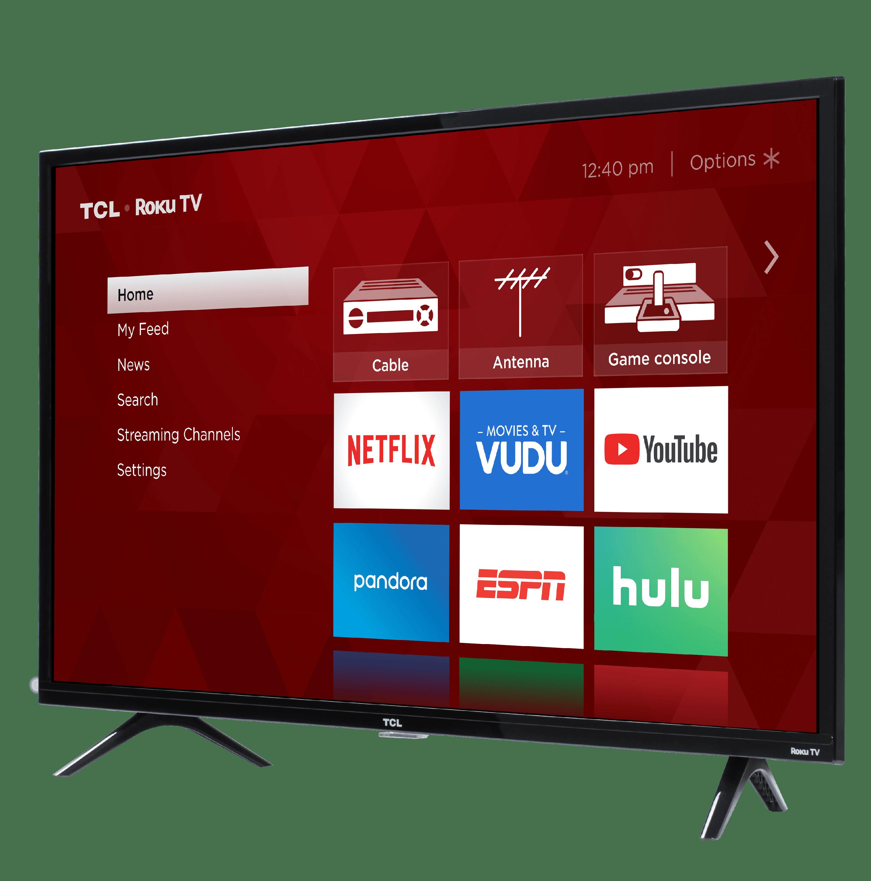 TCL 40 Class HD (1080P) Roku Smart LED TV (40S325) - Walmart com
