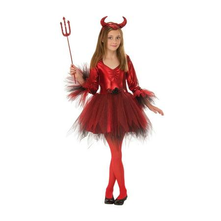 Devil Costume For Girl (Classic Devil Girls Costume)