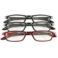 0fcb45c74251 Product Image Half Eye Style Magnifying Reading Glasses +3.5 Set of 3 Pairs  ValuPac
