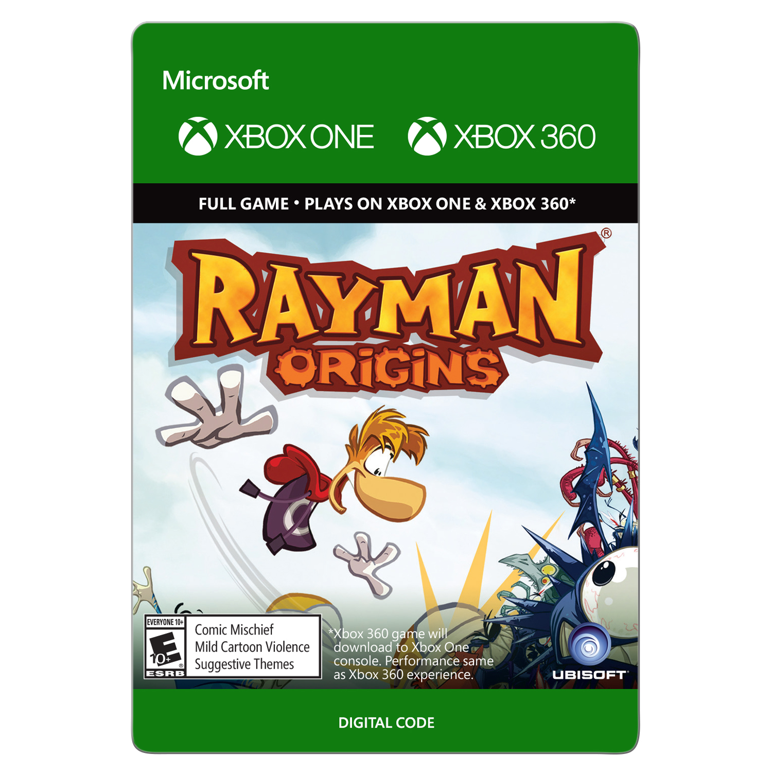 Xbox 360 Rayman Origins (email delivery)