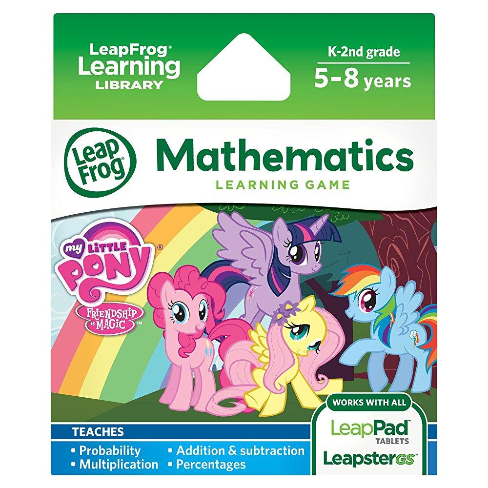 LeapFrog Learning Game: My Little Pony Friendship is Magic(for LeapPad Tablets and LeapsterGS) by