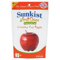 Sunkist Fruit Chips, Crunchy Fuji Apple, 1 Ounce