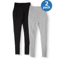 Time and Tru Maternity Legging, 2 Pack