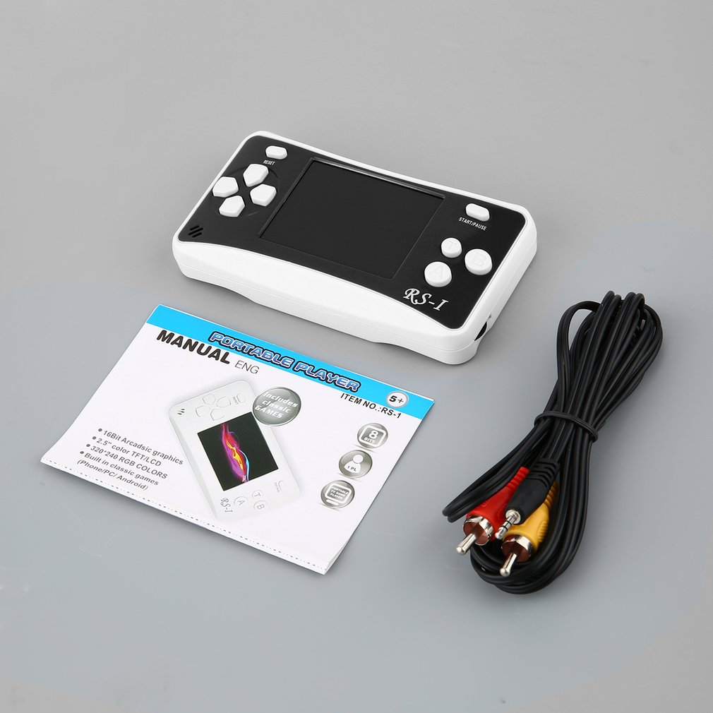 2018 Upgraded Version LESHP Arcade Classics Handheld Games Consoles  Portable 2 5