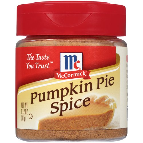 McCormick Specialty Herbs And Spices Pumpkin Pie Spice, 1.12 oz
