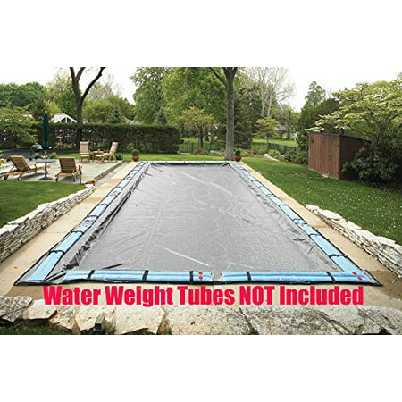 Arctic Armor Gorilla (25 Ft x 45 Ft Rectangle Winter Protective Inground Solid Pool Cover Arctic Armor Gorilla 20 Year Warranty)