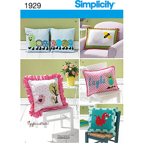 Simplicity Pattern Home Decorating-ONE SIZE