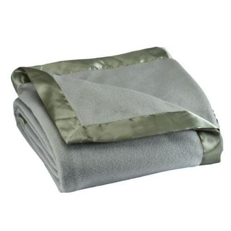 Satin Fleece Blanket by OakRidgeTM - Gund Satin Blankets