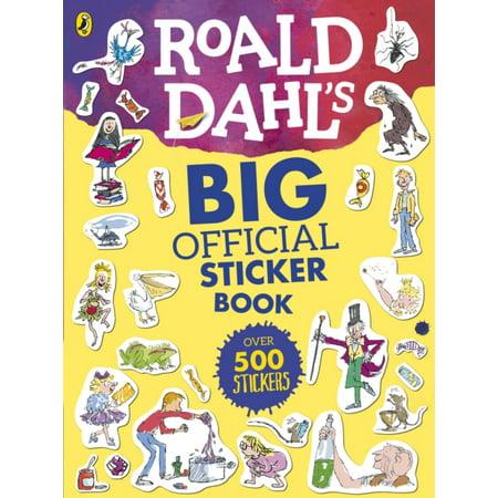 ROALD DAHLS MARVELLOUS OFFICIAL STICKER (Roald Dahl Halloween Costumes)