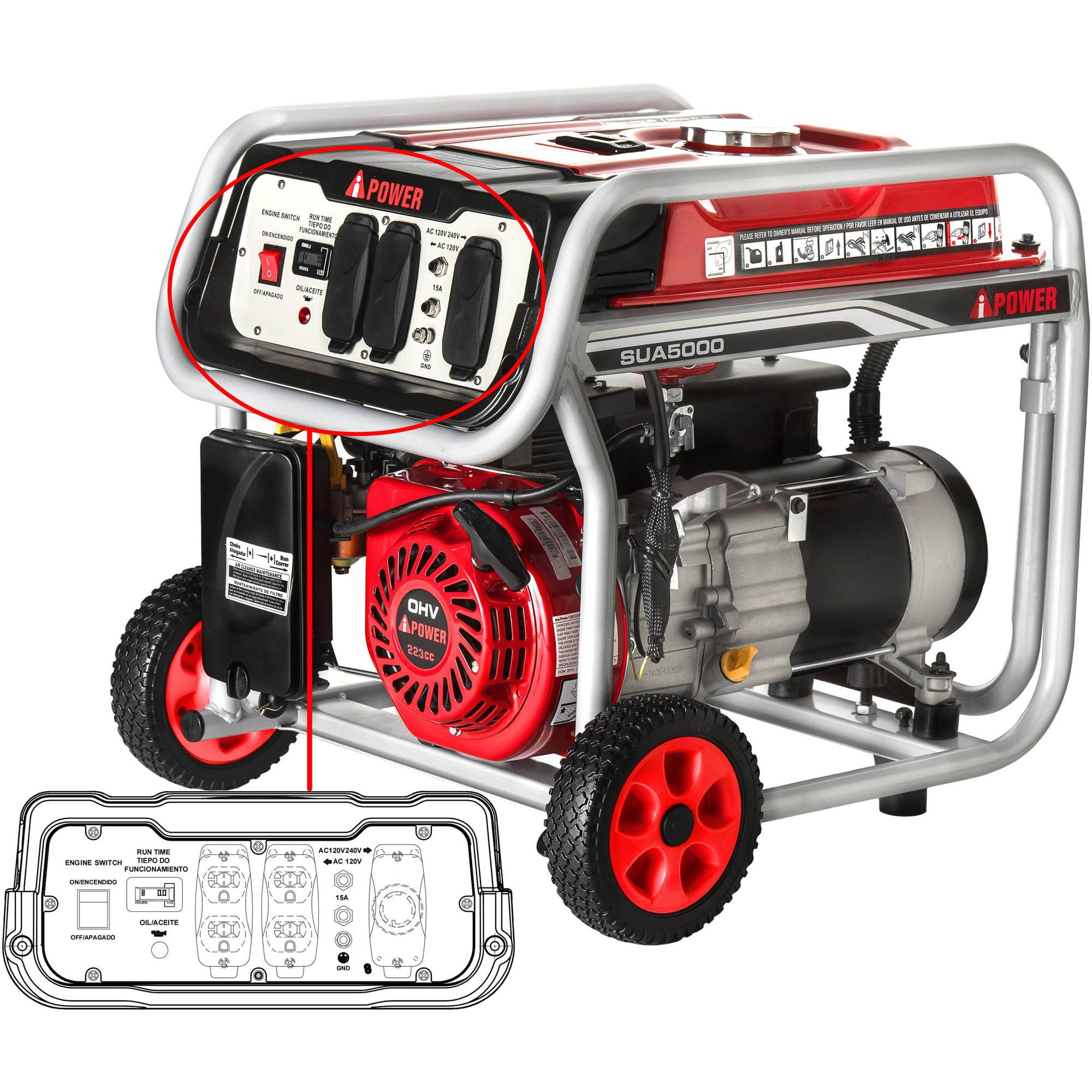 A iPower 5000W Gasoline Powered Generator Walmart