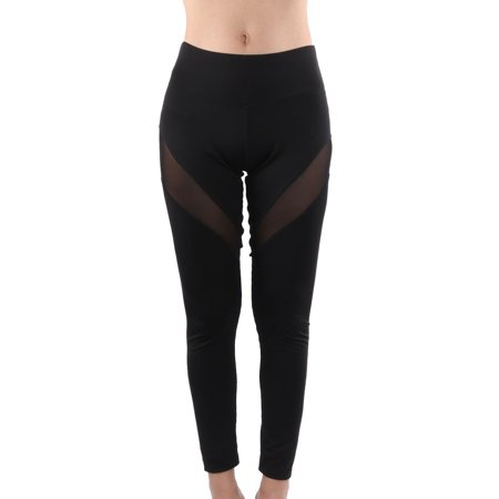 Women Running Sports Athletics Stretchy Tights Yoga Trousers Legging Pants # 2