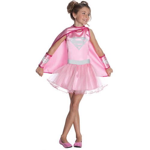Supergirl Pink Tutu Child Dress-Up Costume