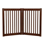 Dynamic Accents 32 in. 2 Panel Free Standing Gate