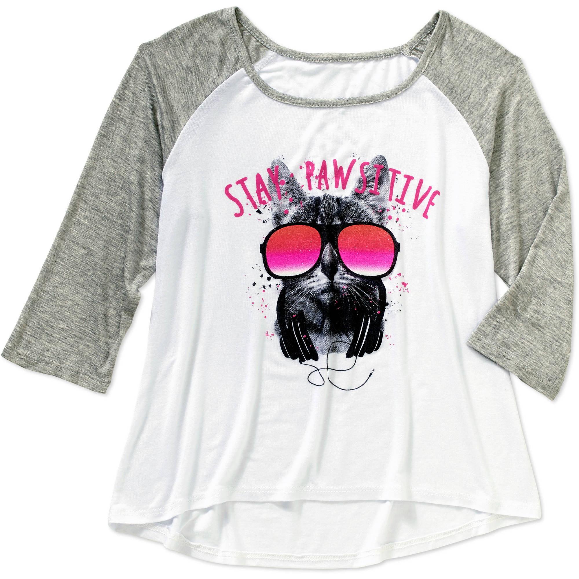 Miss Star Girls' Purfectly Sweet Jersey T-Shirt
