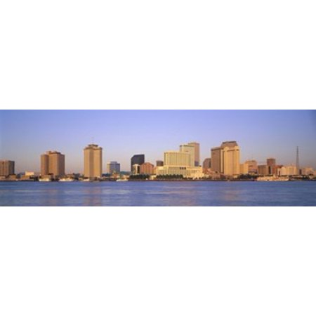Sunrise Skyline New Orleans Louisiana Usa Canvas Art Panoramic Images 15 X 5
