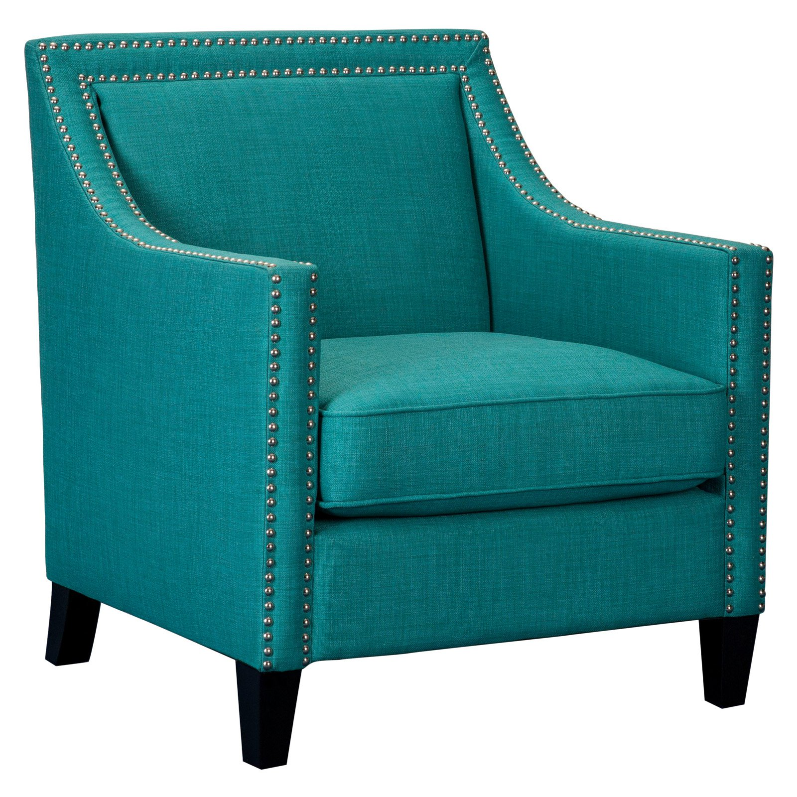 Picket House Furnishings Erica Chair with Chrome Nailhead Trim