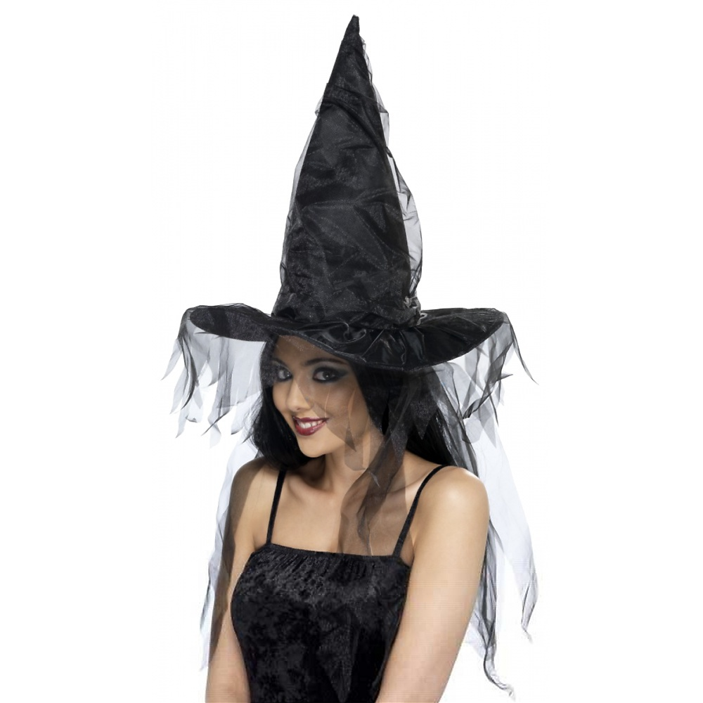 Witches Hat Adult Costume Accessory