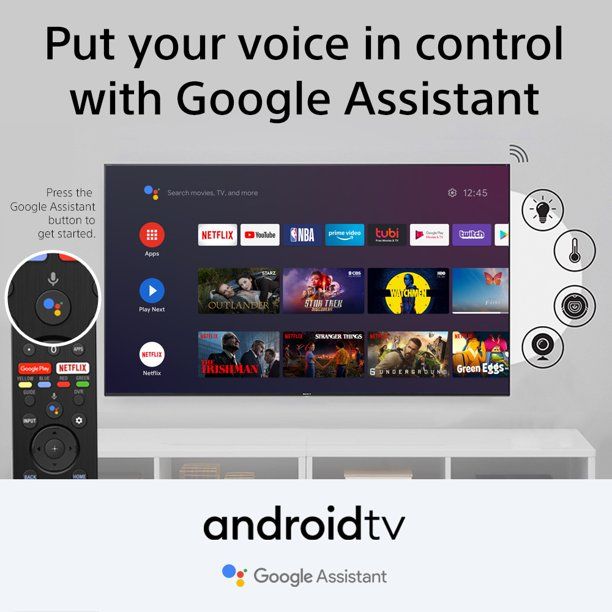 Sony 77″ Class 4K UHD OLED Android Smart TV HDR BRAVIA A9G Series XBR77A9G