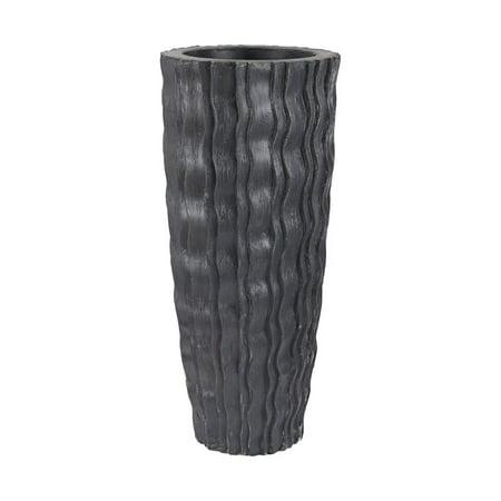 - Sterling Vase in Black Ash