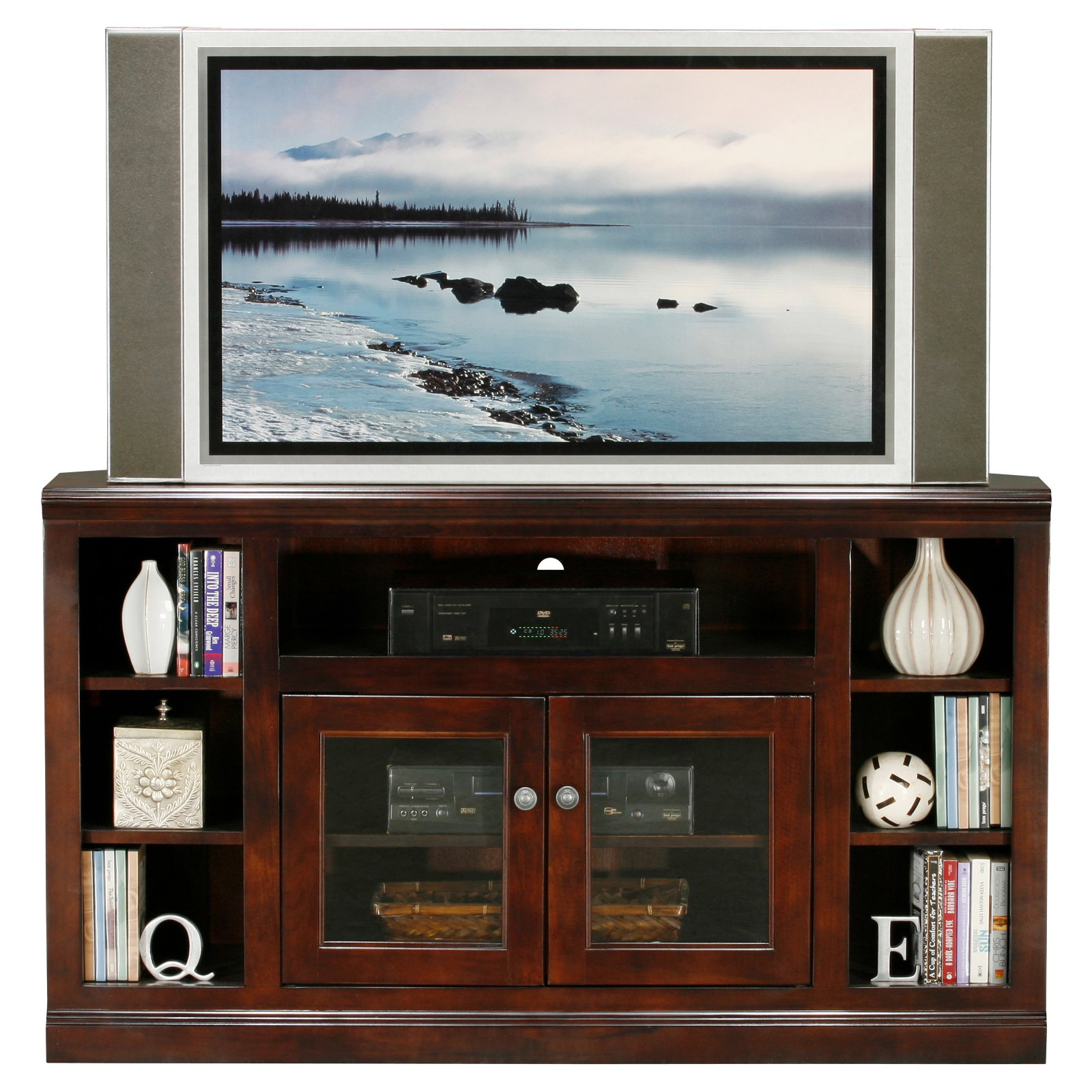 Eagle Furniture Coastal 55 in. Corner Entertainment Center