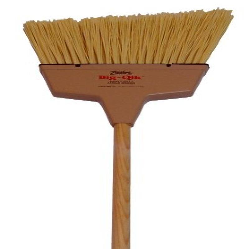 Zephyr 34058 Zip-Qik Wide Angle Broom with Plastic Handle...