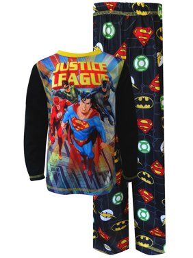 bfd6d93201 Product Image Justice League Heroes On The Move Pajama Set. Komar Kids